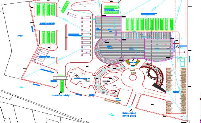 Architecture Bus Terminal