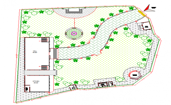 Club House Detail Lay-out