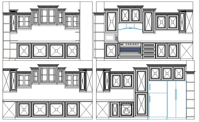 Kitchen Elevation Design