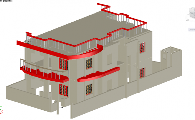 3D House Detail