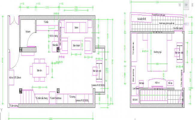 Single House plan