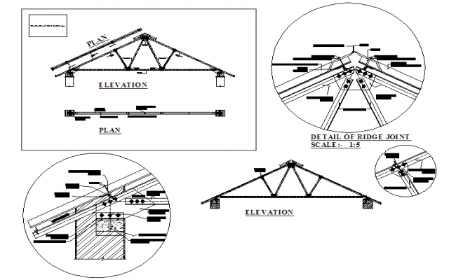 Structure Truss Detail