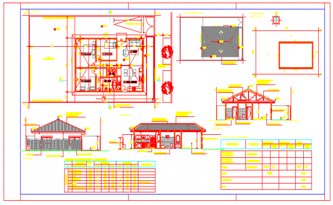 Bungalow design Project