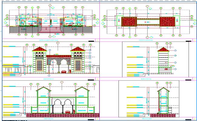 Gate design of house
