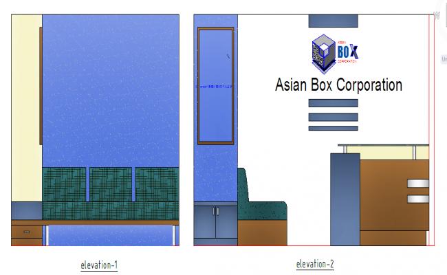 Furniture Elevation Detail
