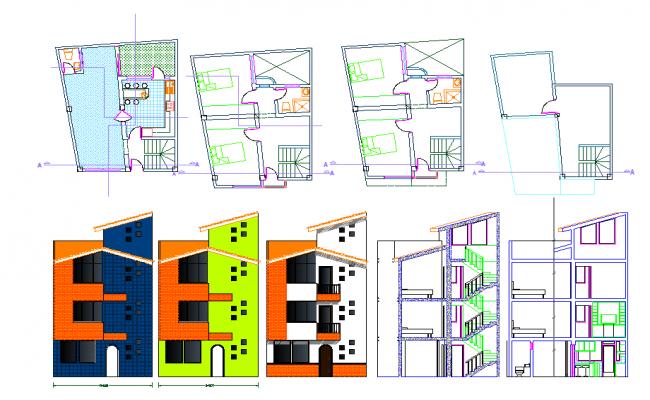 2d Home plan