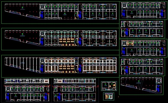 Hotel plan DWG