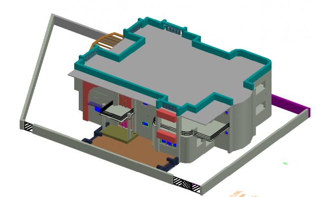 3D Bungalows Design
