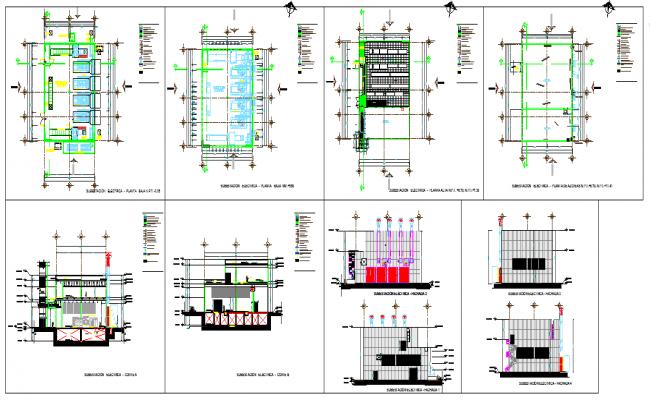 Electrical sub station Design