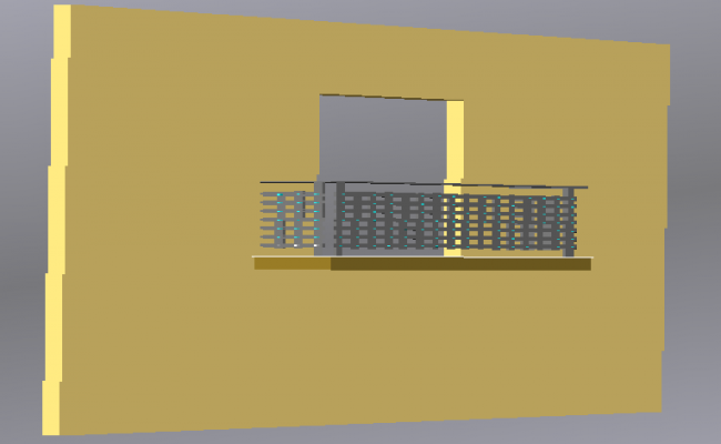 Balcony house design