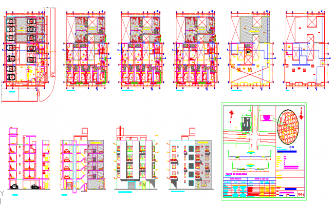 Hotel project design