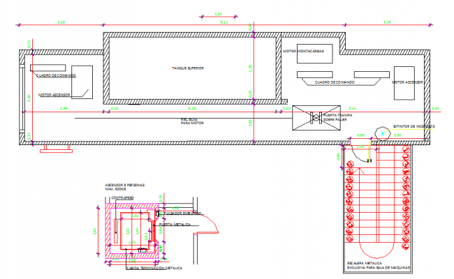 Elevator Design Lay-out