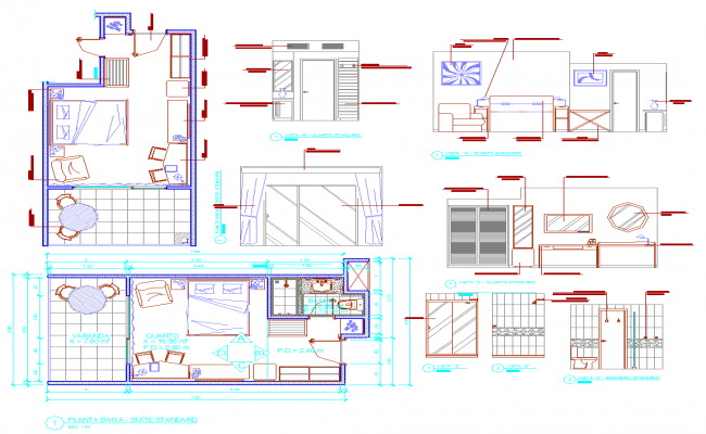 Hotel Room Detail planing