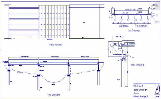 Concrete Bridge DWG