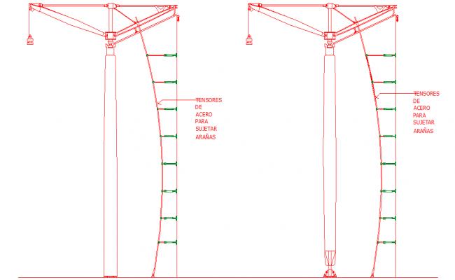 Metallic Structure Detail