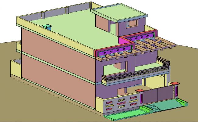 3D Duplex Home
