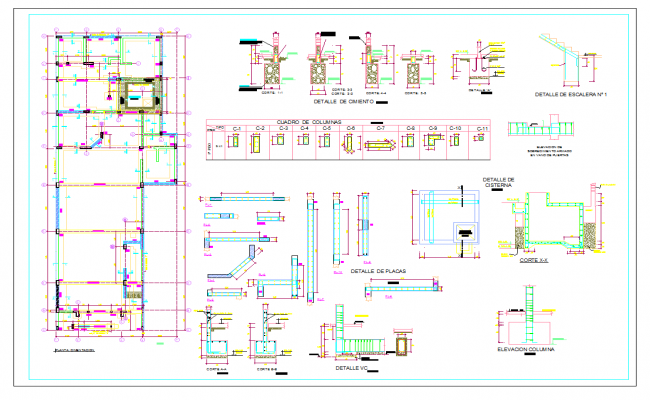 Foundation Plan Lay-out