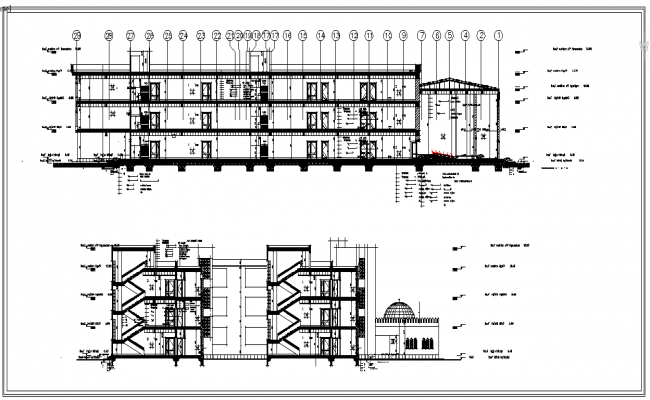 School Elevation Design