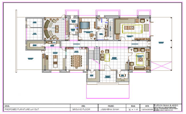 Modern Bungalows Lay-out