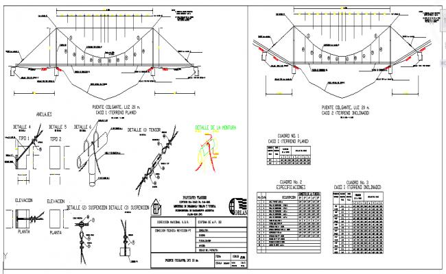 Suspension Bridge Project