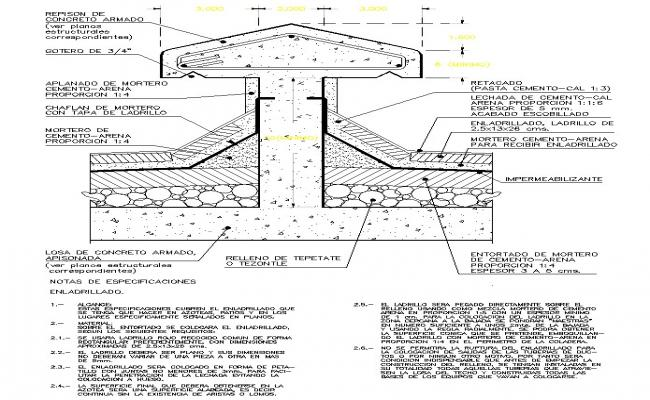 structure cutting  section