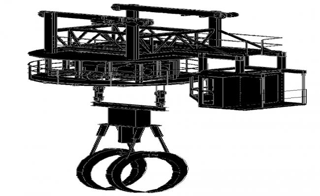 Cabin Bridge Crane Design
