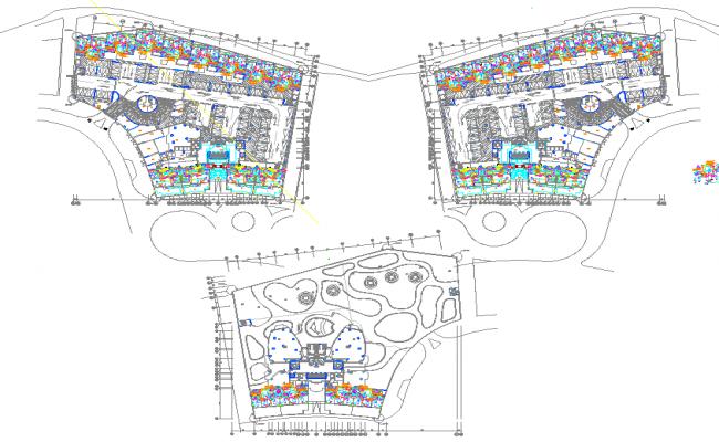 Basement Lighting Layout plan