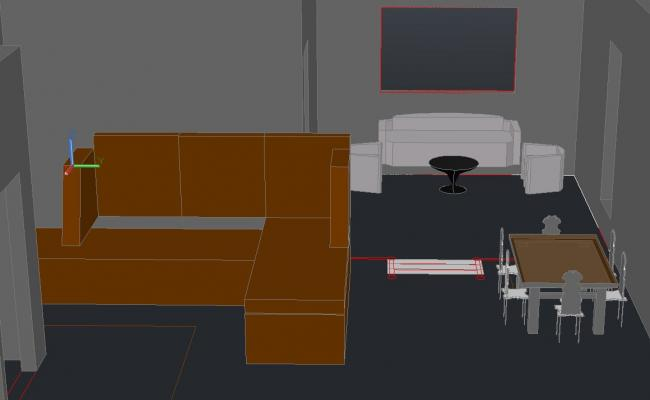 3d drawing room interiors