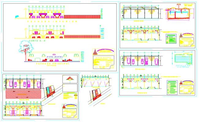 Hotel Elevation Detail file