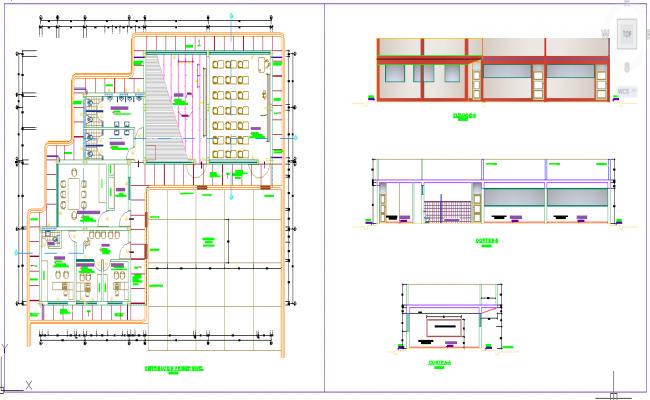 Class Room Detail plan