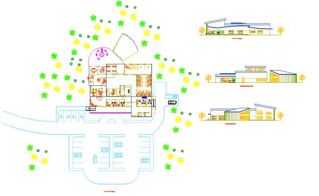 Clinic centre detail