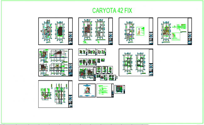 Flat architecture layout design
