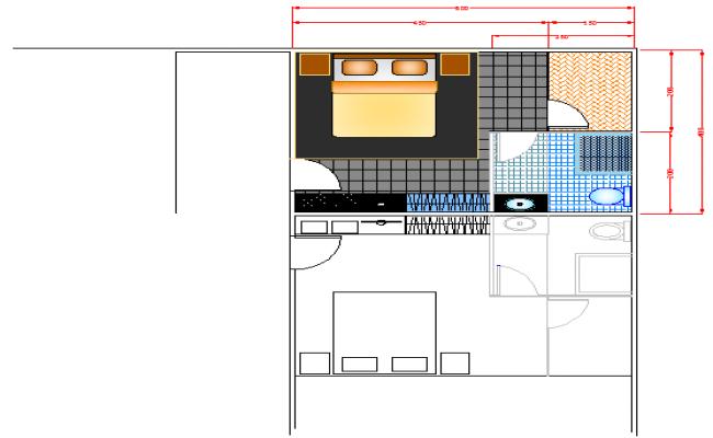 Apartment Room design.