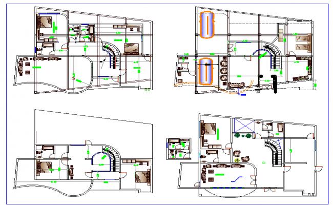 Bungalows Floor Plan