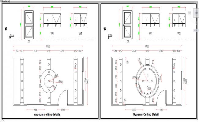 Door & ceiling design