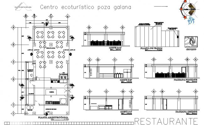 Restaurant design detail