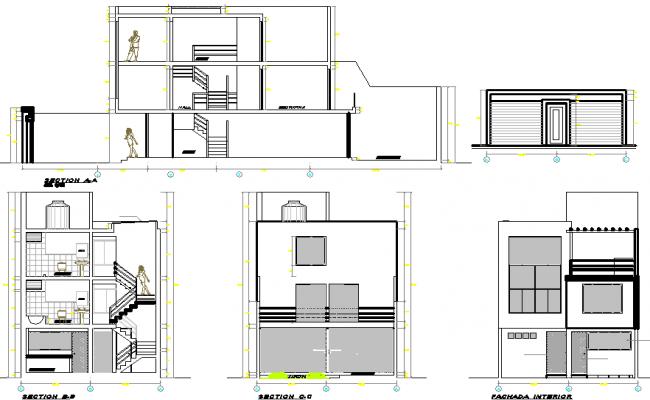 3 Story House Plan