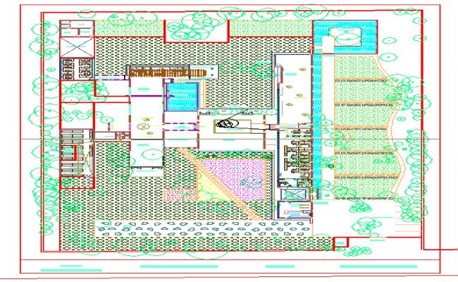 CONCEPTUAL LANDSCAPE PLAN OF DESIGN STUDIO