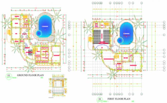 Club House Purpose plan