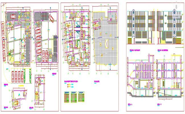 Restaurant Design plan