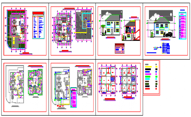 Architecture design of bunglow