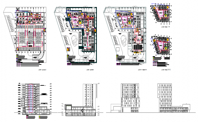 4 Star Hotel Detail Plan