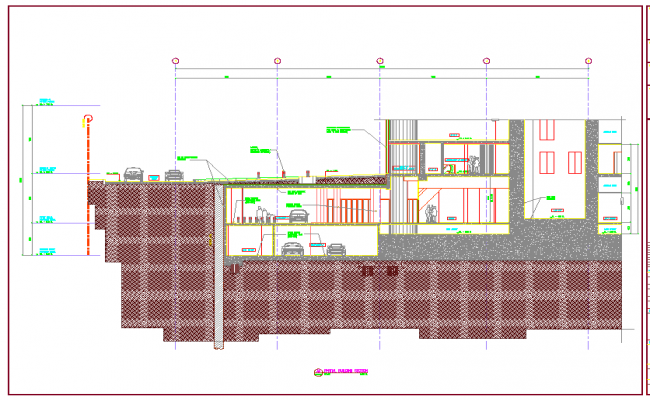 Building Section design