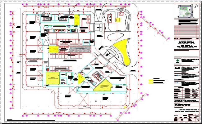 Hotel Level 1 floor WP plan