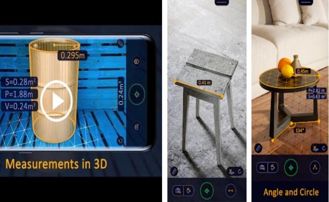 AR Ruler App – Tape Measure & Camera To Plan