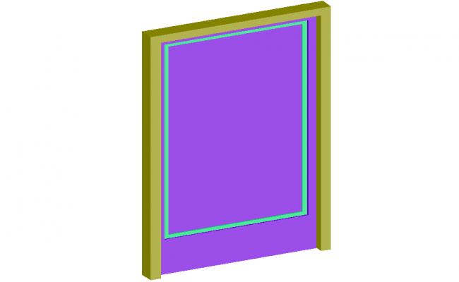 Access door 3d design view