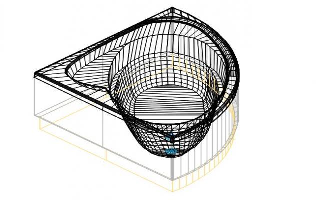 Acrylic bath tub from bali
