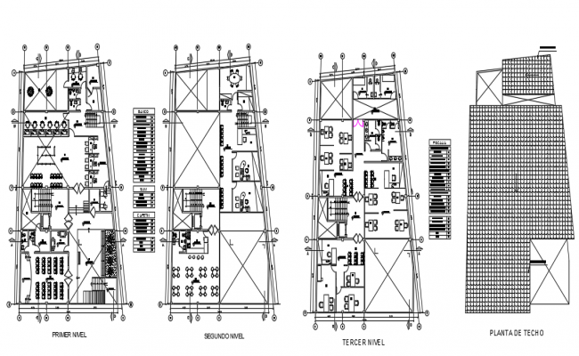 Administrative building city layout plan