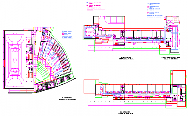 Air condition installation layout of primary school design study on former rail road property
