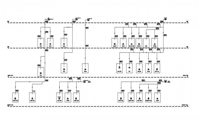 Air schematic and HVAC  work details.